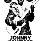 "JOHNNY ""GUITAR"" WATSON BLUES GANGSTER OF LOVE SUPER COOL T-SHIRT by westox"