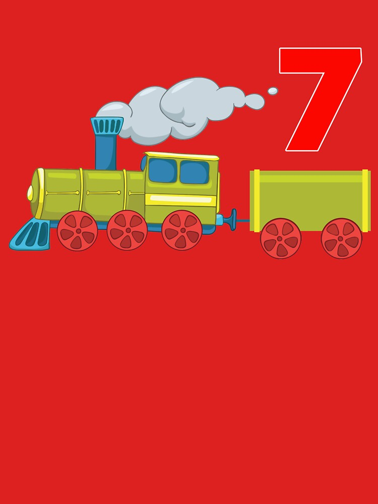 7 Year Old Train Lovers by teerich