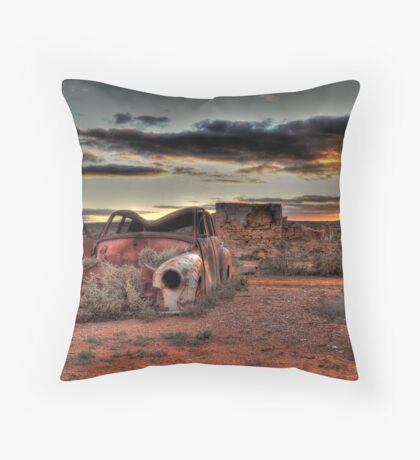 All Things Come To An End  Throw Pillow