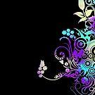 Decorative swirly design by Anteia