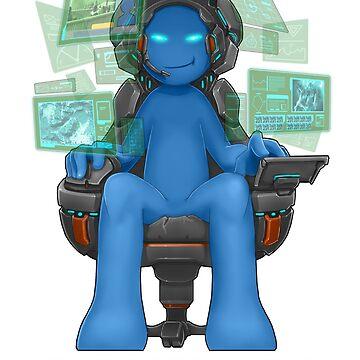 Gamer - RTS Genre by Squatterloki