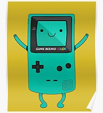 Game Beemo Color Poster