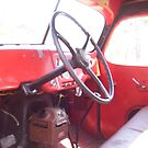 interior of old Bud truck by cdcantrell