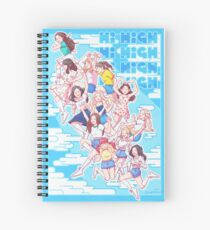 Hi High Spiral Notebook