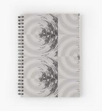 Distort Spiral Notebook