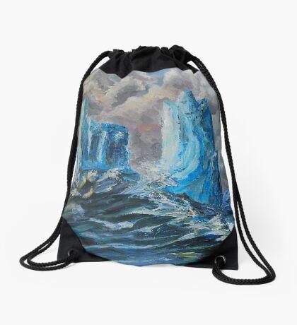 Icebergs Drawstring Bag