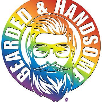 Bearded & amp; Handsome rainbow by netrok