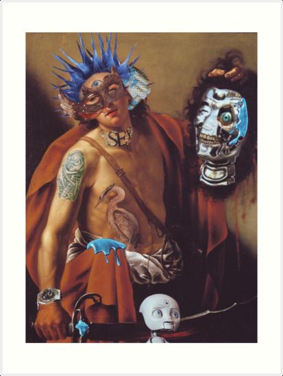 """""""When Caravaggio met Atomikboy"""".......... by atomikboy"""