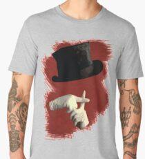 Camiseta premium para hombre Escribo pecados no tragedias
