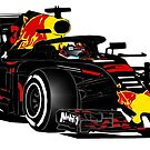 Formula 1 - Ricciardo by Port-Stevens