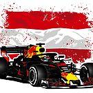 Formula 1 - Ricciardo - Austrian Flag by Port-Stevens