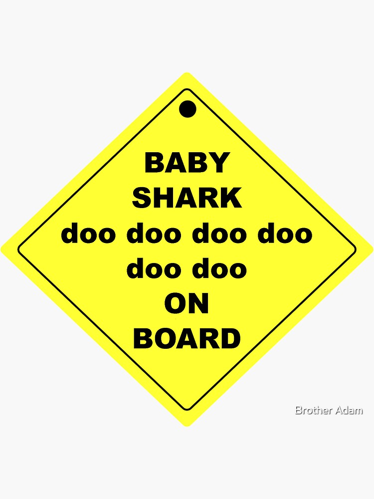 Baby Shark doo doo doo doo doo doo On Board! by atartist