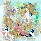 Ocean Life Abstract by Niki Jackson by Niki Jackson