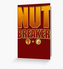 Johnny Cage Nutbreaker Greeting Card
