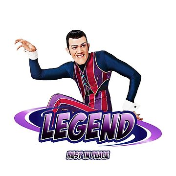 Robbie Rotten Legend R.I.P. by hypetype