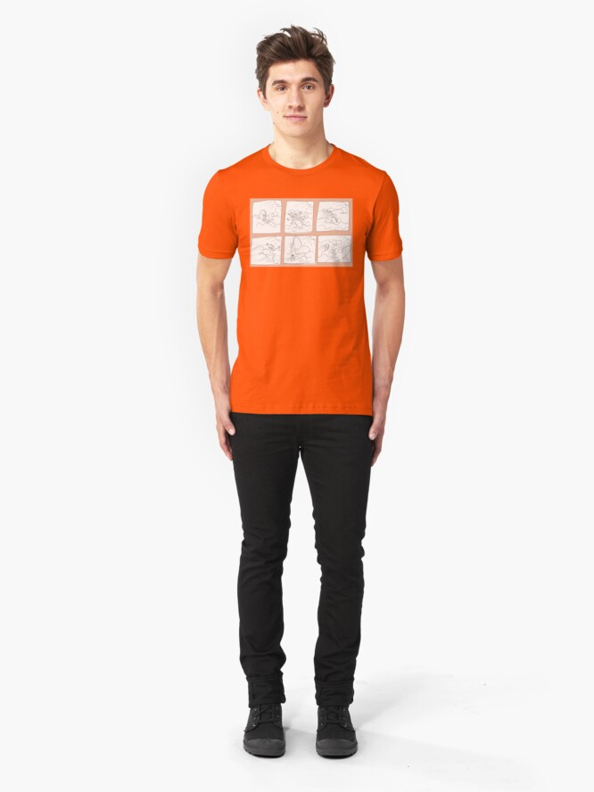 Alternative Ansicht von Surfing Slim Fit T-Shirt