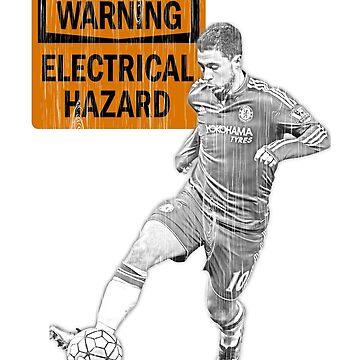 Eden Hazard Warning by wrightboy62