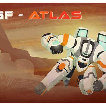 Atlas Sliding by bloomejasmine