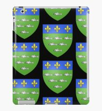 French France Coat of Arms 13595 Blason ville fr Loches Indre et Loire iPad Case/Skin