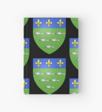 French France Coat of Arms 13595 Blason ville fr Loches Indre et Loire Hardcover Journal