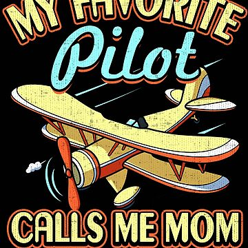 Pilot Mom Shirt Airplane Pilots Moms Air Force Stickers by Joeby26