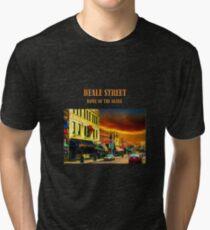 Beale Street Home of the Blues - Memphis Art Tri-blend T-Shirt