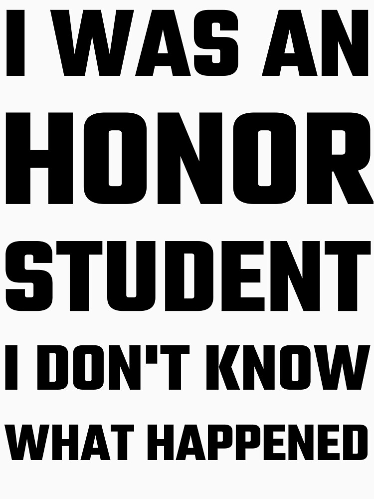 Do's and dont's of an honor student?