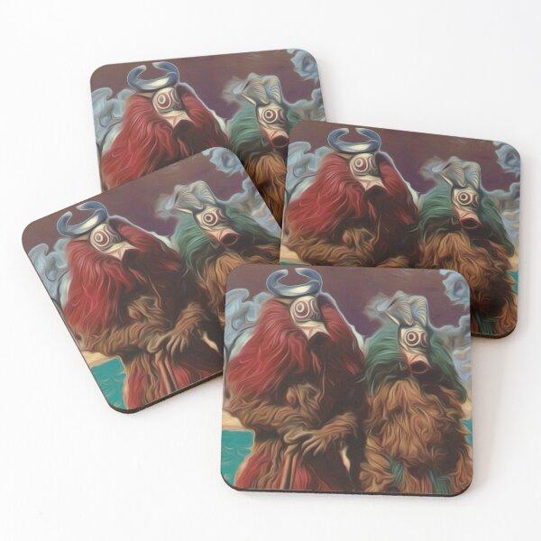 phil jarry - store - 109 Coasters (Set of 4)