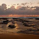 Sunrise over Wamberal by John Buxton