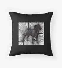 Staffordshire Bull Terrier Mosaic Floor Pillow