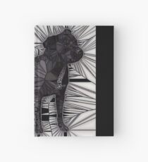 Staffordshire Bull Terrier Mosaic Hardcover Journal