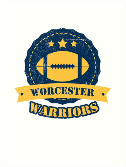 80f21b1868 Worcester Warriors Rugby Top English Union Camiseta Regalo presente