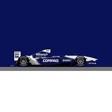 Formula 1 - Juan Pablo Montoya - Williams FW24 by JageOwen