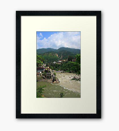 Rudra Prayag (The Blessed Land) Framed Print