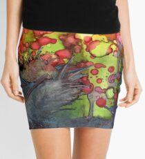 Release - Abstract Painting Mini Skirt