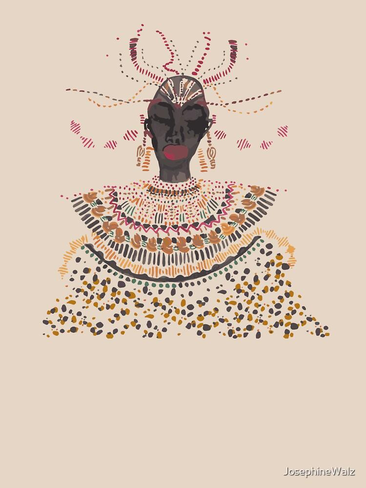 African Lady von JosephineWalz
