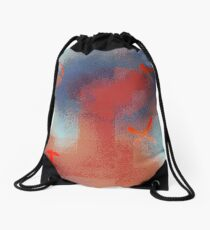 Crucifixion by collective agreement Drawstring Bag