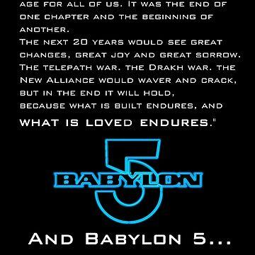 Babylon 5 Endures! by sandnotoil