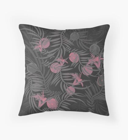 Plants Flowers and Your Fruit Throw Pillow