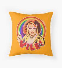 Vile! Throw Pillow