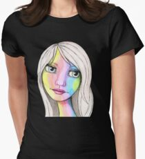 She Loves In Color Women's Fitted T-Shirt