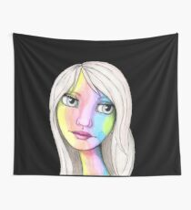 She Loves In Color Wall Tapestry