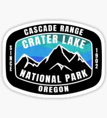Crater Lake National Park Oregon Sticker