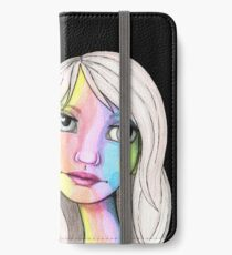 She Loves In Color iPhone Wallet/Case/Skin