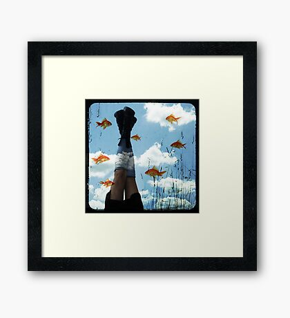 Bubbledreams Framed Print