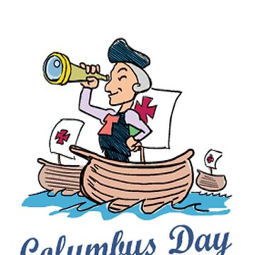 Columbus Day Design by Ivelin