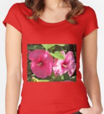 Light & Shadow Women's Fitted Scoop T-Shirt