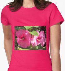 Light & Shadow Women's Fitted T-Shirt
