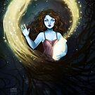 Nightmares into Fireflies by BlackBirdInk
