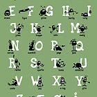 Alfabet - Grøn by addsoul